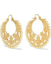 Mallarino - Mariana Gold Vermeil Earrings - Lyst