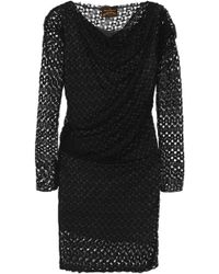 Vivienne Westwood Anglomania - Toga Draped Lace Dress - Lyst