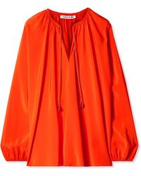 Elizabeth and James - Chance Silk Blouse - Lyst