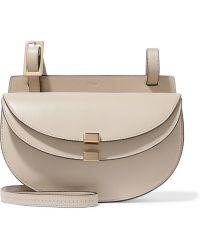 Chloé - Chloé Georgia Mini Leather Shoulder Bag - Lyst