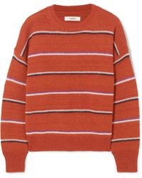 Étoile Isabel Marant | Gatlin Striped Alpaca-blend Sweater | Lyst