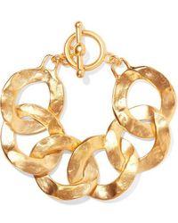 Kenneth Jay Lane - Gold-tone Bracelet - Lyst