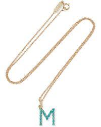 Jennifer Meyer Stick 18-karat Gold Diamond Necklace UheiX0