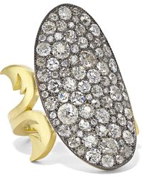 Sylva & Cie - 18-karat Gold, Sterling Silver And Diamond Ring - Lyst