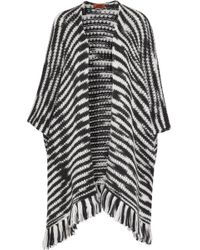Missoni - Striped Wool-blend Wrap - Lyst