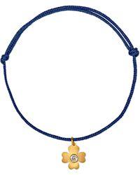 Marie-hélène De Taillac - Clover 22-karat Gold Diamond Bracelet - Lyst