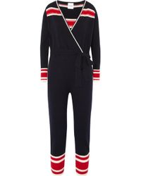 Madeleine Thompson - Famingo Striped Cashmere Onesie - Lyst
