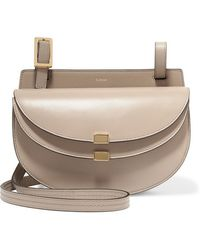 Chloé - Georgia Leather Shoulder Bag - Lyst
