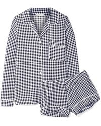 Eberjey - Bettina Sleep Chic Gingham Stretch-modal Jersey Pyjama Set - Lyst