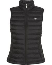 Ariat - Ideal Quilted Shell Down Gilet - Lyst