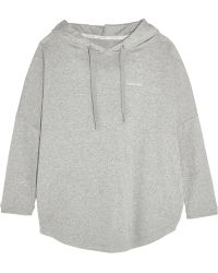 CALVIN KLEIN 205W39NYC - Cotton-blend Hooded Top - Lyst