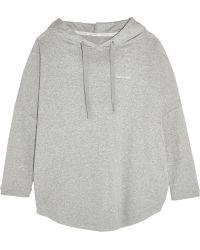 CALVIN KLEIN 205W39NYC - Cotton-blend Hooded Sweatshirt - Lyst
