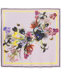Givenchy | Scarf In Printed Cashmere 140 X 140cm | Lyst
