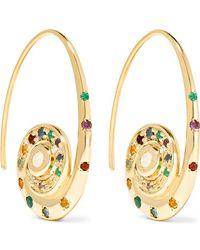Venyx - Pharaonys 18-karat Gold Multi-stone Earrings - Lyst