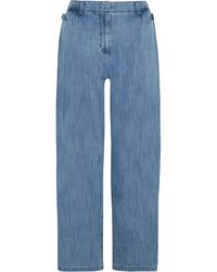SJYP - High-rise Wide-leg Jeans - Lyst