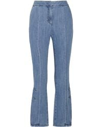 SJYP - High-rise Flared Jeans - Lyst
