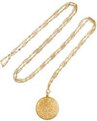 Fred Leighton - 1900s 18-karat Gold Necklace - Lyst