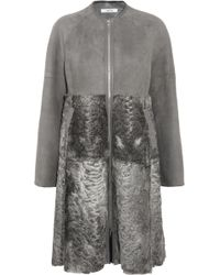 ADEAM | Shearling Coat | Lyst