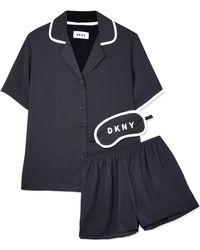 DKNY - Never Sleeps Washed-satin Pyjama Set - Lyst