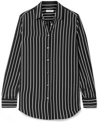 Equipment - Striped Fitted Shirt - Lyst