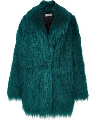 MM6 by Maison Martin Margiela - Faux Fur Jacket - Lyst