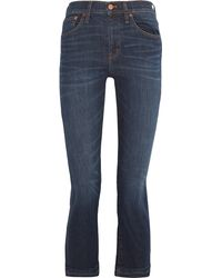 Madewell - Cali Demi Boot Cropped Mid-rise Jeans - Lyst
