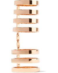 Repossi - Berbère 18-karat Rose Gold Ring Rose Gold 56 - Lyst