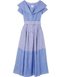Gül Hürgel   Linen And Cotton-blend Dress   Lyst