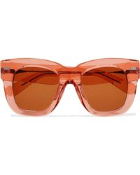 8b68c7ff430 Acne Studios - Library Square-frame Acetate Sunglasses - Lyst
