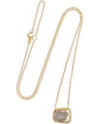 18-karat Gold Ruby Necklace - one size Brooke Gregson u5Nn8