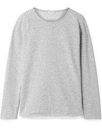 Hanro - Pure Comfort Stretch Cotton-blend Jersey Jumper - Lyst