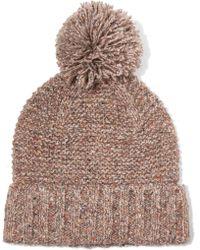 J.Crew - Jasper Pompom-embellished Chunky-knit Beanie - Lyst