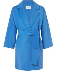 Max Mara - Wool And Cashmere-blend Coat - Lyst
