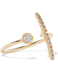 Hirotaka - 10-karat Gold Diamond Ring - Lyst