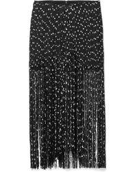 Jacquemus - Woven Fringed Skirt - Lyst