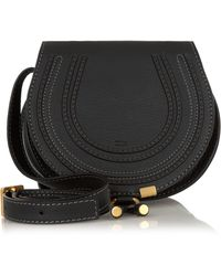 Chloé - Marcie Mini Textured Leather Shoulder Bag - Lyst