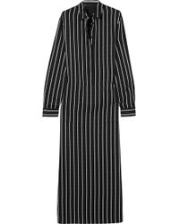 Haider Ackermann | Striped Cotton Maxi Dress | Lyst