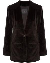 Madewell - Cotton-blend Velvet Blazer - Lyst