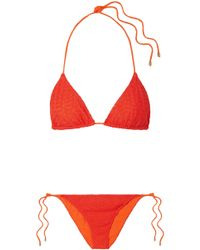 Missoni | Mare Pizzo Crochet-knit Bikini | Lyst