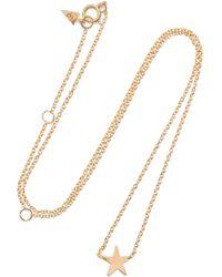Loren Stewart - Mini Star Gold Necklace - Lyst