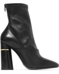 3.1 Phillip Lim - Kyoto Leather Sock Boots - Lyst