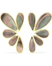 Ippolita - Polished Rock Candy 18-karat Gold Shell Earrings - Lyst