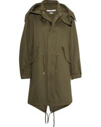 Givenchy - Hooded Printed Cotton-twill Parka - Lyst