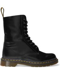 Marc Jacobs - Dr. Martens Leather Ankle Boots - Lyst