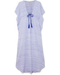 Jaline - Camilla Striped Cotton Maxi Dress - Lyst