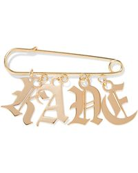 Christopher Kane - Gold-tone Brooch - Lyst