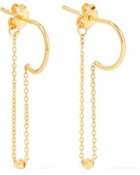Scosha - Gold-plated Earrings - Lyst