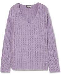 Paul & Joe - Joris Oversized Ribbed-knit Sweater - Lyst