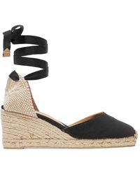 Castaner - Cotton Espadrille Wedges - Lyst