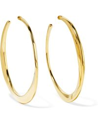 Ippolita - Classico 18-karat Gold Hoop Earrings - Lyst